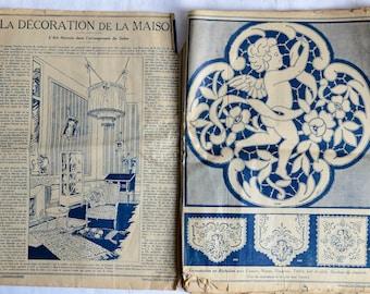 Vintage French Fashion Magazine - 1920s - Le Petit Echo de La Mode - La Maison Edtion