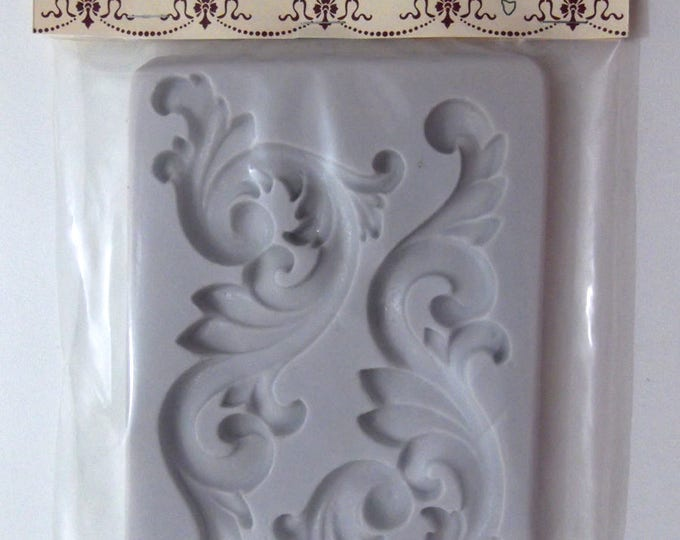 Silicone Mold for Furniture Appliques For Resin, Paper PMC Clay, Plaster & other Casting Mediums Silicone Embellishment Mold Decor Art Mould