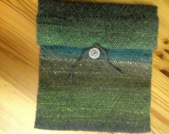 Handwoven Wool iPad case