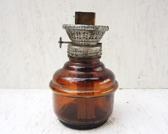 Vintage kerosene lamp - Antique lamp - Oil lamp - Home decor - Garden decor