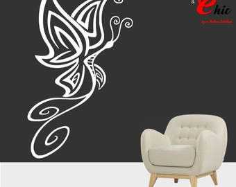 Sticker design to be personalized Butterfly sticker