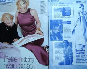 PRIMA pattern - Dress SHEATH women REF. 196
