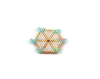 PIN wheel beadwoven Miuyki
