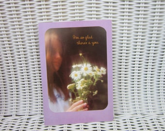 Greeting Card Sunshine Get Well Card with Love Vintage