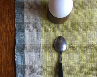 Vinyage Swedish Handwovens: Cool Grey