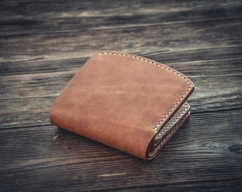 Leather bifold Axe wallet
