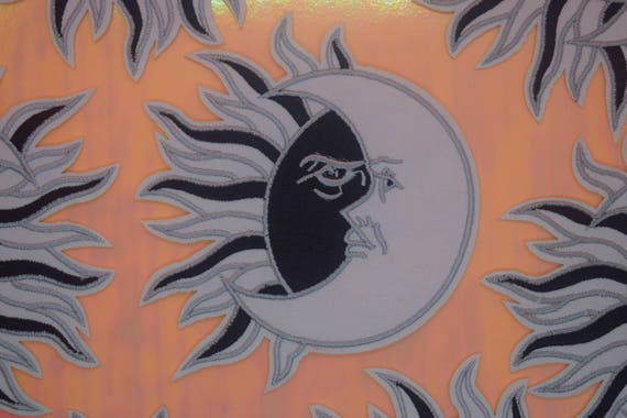Sun and Moon Iron on Patch
