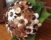Daisy Button Bouquet...