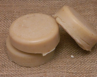 Sacred Sandalwood NO Coconut Goats Milk Shaving Soap 4 oz