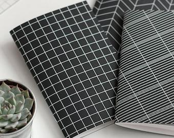 "1 pocket notebook with ""Chart"" - 1 Pocket notebook ""Chart"" - art screen printing"