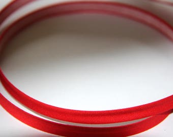 THERMOADESIF 8MM RED POLYCOTTON BIAS