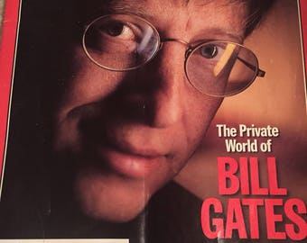 Time Magazine January 13, 1997 Issue- Bill Gates (The Private World of Bill Gates-A Surprising Visit With the Man Who is Shaping Our Future)