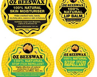 Oz Beeswax 100% Natural All Purpose Pack