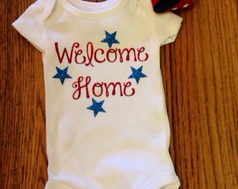 Welcome Home Onesie