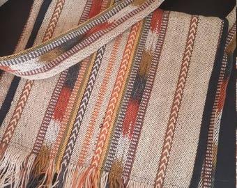 Coton tissé Vintage besace bandoulière Boho