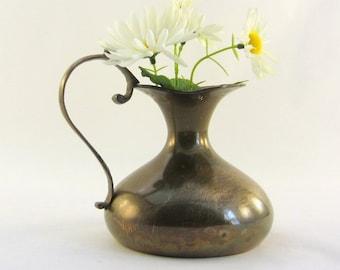 Vintage Brass Pitcher/Vase