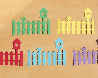 5 cuts barriers for your scrapbooking creations, set of 69.