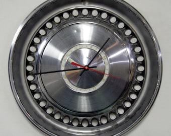 Chevrolet Wall Clock - 1968 - 1970 Chevy Impala, Nova, Bel Air, Biscayne Hubcap - 1969