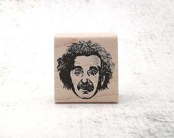 The Einstein Stamp - Albert Einstein Rubber Stamp - Teachers Stamp - Physics and Math Stationary