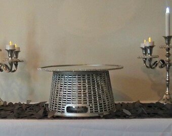 Silver Simplicity Cupcake Stand