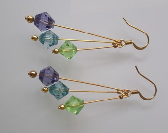 3 Dropper Earrings