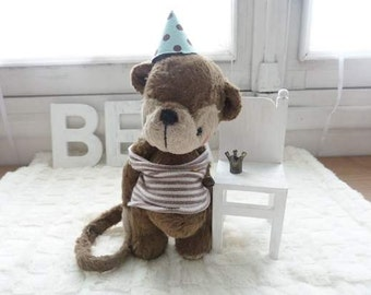 Sewing pattern PDF for 6,5 inch Monkey