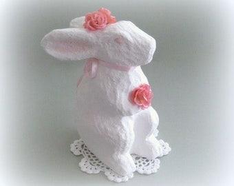 Nursery Bunny Decor Nursery Rabbit Decor Nursery Bunny Rabbit Figurine Bunny Figurine Baby Room Bunny White Easter Bunny Rabbit Easter Gift