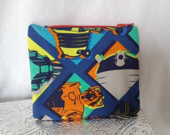 Dr. Who Small Zippie Pouch
