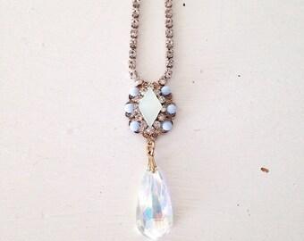 Chandelier heirloom pendant necklace