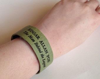PoE Bibliothek Manschette Buch Armband