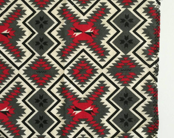 tribal kilim red charcoal grey receiving blanket