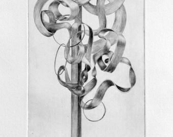 Tree Nr.2 - Original Drypoint print