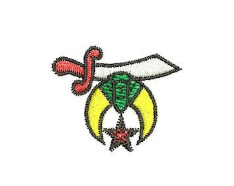 Shriners embroidery design