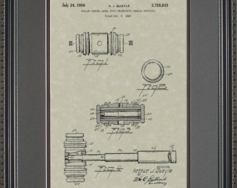 Judge Gavel Patent Art Wall Hanging  Attorney Lawyer Gift Q5833