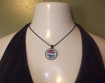 Leather Pride Necklace