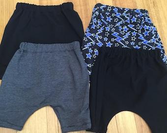 Custom Harem Shorts In Sizes 000-6