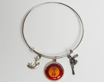 Firefly Serenity Bangle Bracelet based on the Firefly TV Show
