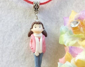 Little Girl Figurine collana