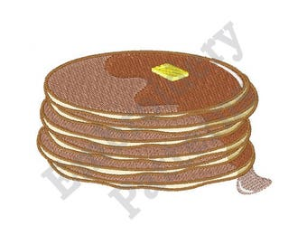 Pancake Stack - Machine Embroidery Design