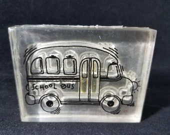 School Bus Used Stamp View all Photos