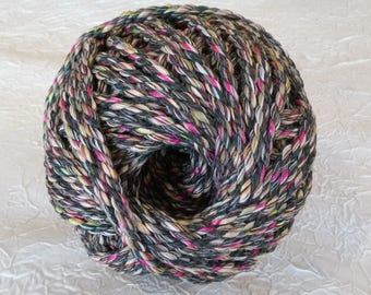 Cotton cord. Twisted cotton cord. Cotton rope. Macrame rope - spool of 100% cotton rope - 8 mm - multicolor.