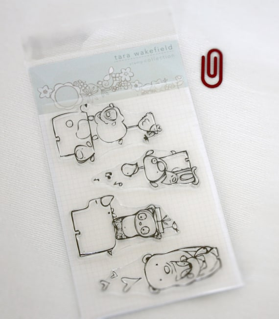 Stacked // clear stamp set // paper crafting // stamps // Rubber ink stamps // craft // card stamps