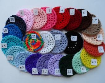 X-Small Bun Cover, Many Colors, Crochet Bun Cover, Bun Wrap, Bun Holder, Snood, Ballet, Dance, Flamenco, Equestrian Show Hair
