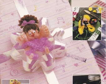 Pop-Ring Pals II, Annie's Attic Crochet Pattern Booklet 87F85 Gifts Trims Party Favors & More