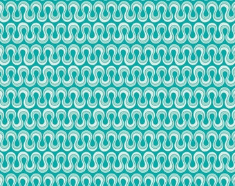 1 yard Blooming Ocean 100% quilt cotton, from Art Gallery Fabric
