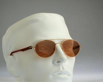 Adidas A910  V 6050, Vintage aviator sunglasses, 90s mens & women rare and unique / NOS