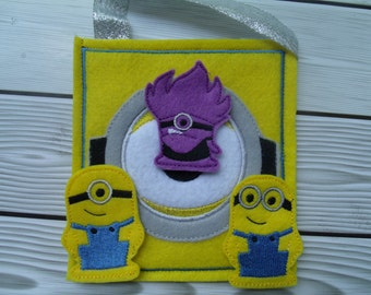Minions Finger Puppet Set with a FREE storage bag