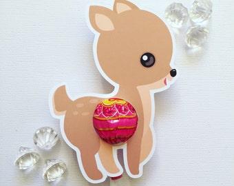 My little deer lollipop holders