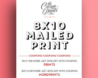 """8x10 Print - Get your printable art mailed to you from The Crown Prints! High quality 8""""x10"""" print shipped to your home"""