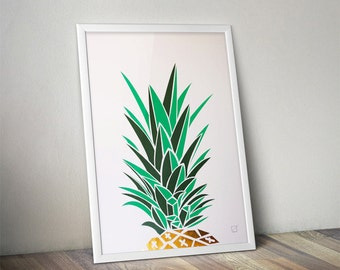 Exotic poster - Customizable - gilding - color-decoration - child - room